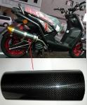 light weight different shape carbon fiber exhaust tube with factory price