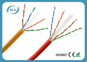 China U / UTP Waterproof Category 6 Ethernet Cable , Super Long Cat 6 Network Cable on sale
