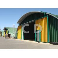 Movable Arch Roof K Span Roll Forming Machine For Building 4.0KW Cutting Power
