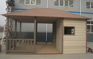China Impact Resistance Coffee WPC Wall Cladding For Garage / Garden Anti Oxidation Material on sale