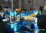 Professional Rack Roll Forming Making Machine for Supermarket Storage Upright Shelves Chain Drive system