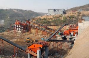 China Highway Building Aggregate Processing Plant , Aggregate Processing Equipment on sale