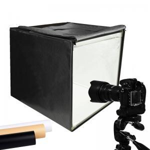 China Portable Photo Studio Light Box Table Studio Led Lighting Tent Kits for Photography Video on sale