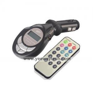 China 3-in-1 Car FM Transmitter FM-105 on sale