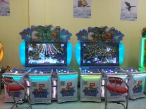China Fish Hunter Game Casino Slot Game Machine Coin Operated HD Display Stable Performance on sale