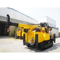 Crawler Hydraulic Engine Drived Rock Drilling Rig , Mining Reverse Circulation Drilling Rig