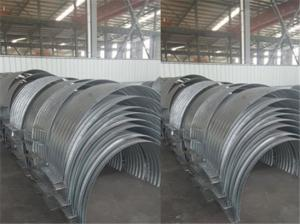 China Connecting band for corrugated steel pipe on sale