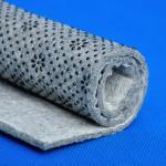 Tissu imprimé par feutre de forte intensité de Nonwoven de style de point de flexibilité pour l'anti glissement