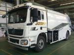 SHACMAN Chassis Refuse Collection Vehicle Durable High Automation Degree