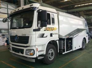China SHACMAN Chassis Refuse Collection Vehicle Durable High Automation Degree on sale