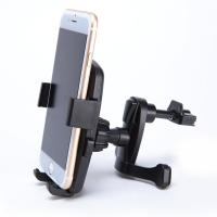 Black Smartphone Car Mount Holder Cradle With A Quick Release Button