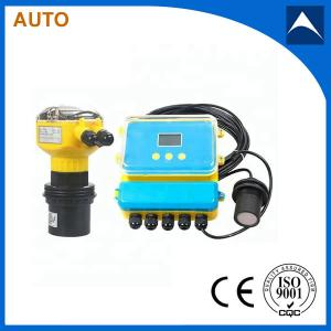 China 5m to 60m RS485/RS232 MODBUS RTU Water Depth Measurement Ultrasonic Water Level Meter on sale