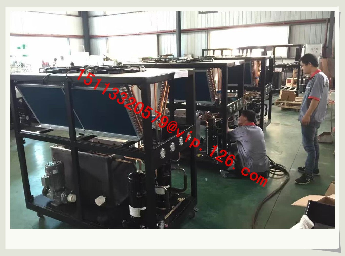 Water Cooled Chiller Industrial Chiller  Water Chillers For - Working principle of overload relay