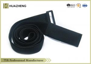 China Eco-friendly stretch Elastic Hook And Loop Strap 20-150mm for Multi-use on sale