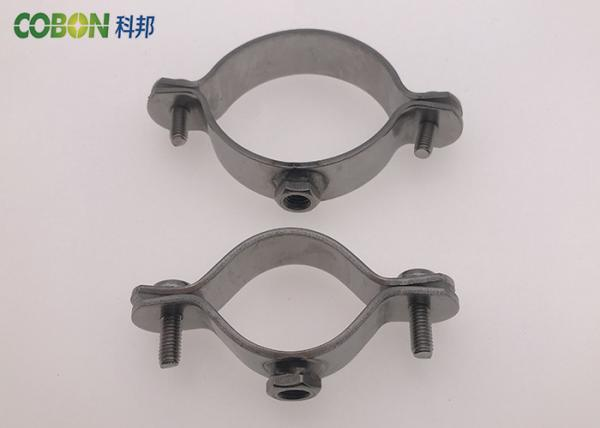 Easy Structure Heavy Duty Stainless Steel Pipe Clamps With
