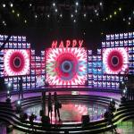 High Brightness 3.91mm Stage LED Screens With ROHS / FCC 1000cd/㎡
