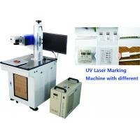 Uv Laser Marker 7W For Mobile Phone Parts , Mobile and computer accessories Engraving Machine No Heat Effect