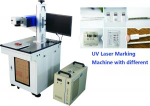 China Uv Laser Marker 7W For Mobile Phone Parts , Mobile and computer accessories Engraving Machine No Heat Effect on sale