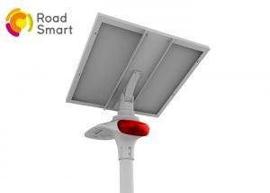 China IP65 Waterproof Solar LED Street Light 3000-6500K With Microwave Motion Sensor on sale