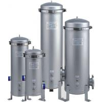 V band clamp top Cartridge Filter Vessels housing for dairy food & beverage