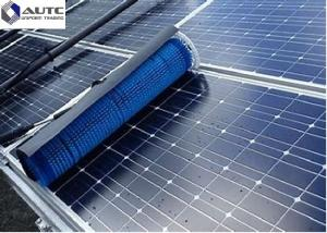 China Reusable Solar Panel Cleaning Brush Electric Industrial Roller For Telescopic Pole Handle on sale