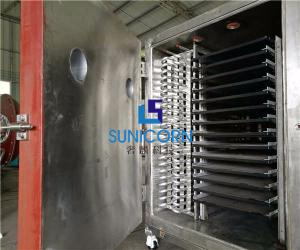 China 33KW Commercial Freeze Drying Equipment PLC Automatic Programming Control System on sale