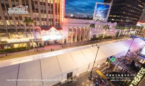 China LIRI Event Tents in Hollywood Used for Black Panther Film Premiere on sale