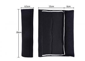 China Auto Parts Cotton Car Seat Belt Strap Covers Comfortable For Your Shoulder on sale