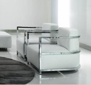 Office Modern Upholstered Chairs , Living Room Pu and Leather Sofa ...