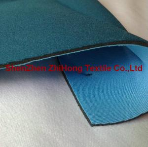 China Customized CR neoprene lamination with durable Lycra fabric on sale