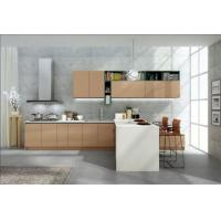 China No Ratten Laminated Particle Board Cabinets , Wooden Modern Kitchen Wardrobe on sale