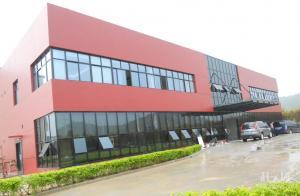 China steel frame building on sale