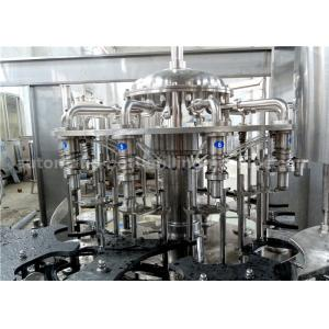 China 3 In 1 Automatic Bottle Filling Machine Compact Structure For Complete Bottle Water Production Line on sale