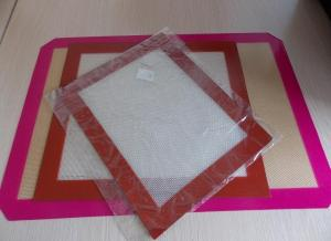 China Cookie Silicone Pad/ Macarons Baking Mat on sale