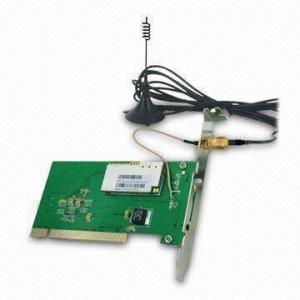 China HSDPA 3G PCI Interface Wireless Modem, Supports Windows 7, Linux Driver, CE, AT Command on sale