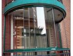 カーテン・ウォールのための曲がった薄板にされた緩和されたガラス、強くされる、CCCが付いている緑/青及びISO