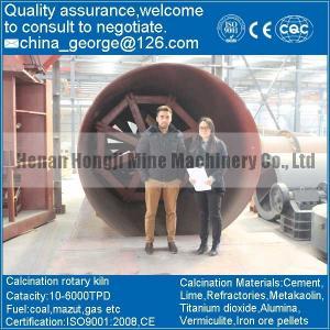 China chromium rotary kiln on sale