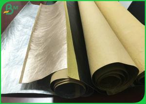 China Fiber Based Pre Washable Textured Kraft Paper For Plants Grow Paper 0.55mm on sale