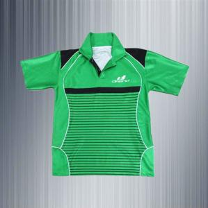 China custom made sublimation polo collar polyester golf shirt green polo shirts for men on sale