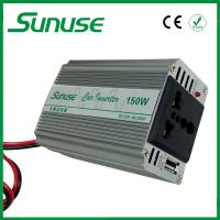 China Portable Single Phase DC / AC 12 Volt to 220 Volt Modified Sine Wave Inverter 150W on sale