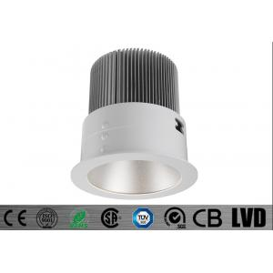China Round 30w 2700k 700ma Sharp Cob Led Downlights Dimmable With Pc Reflectors on sale
