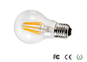 China High Power 220 Volt Natural White Dimmable LED Filament Bulb E27 60*108mm on sale