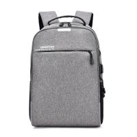 Anti-theft laptop backpack, business waterproof backpack travel bag with USB charging port and headphone