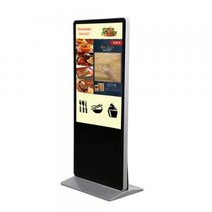 China HD 1080P 55 Inch OEM LCD Touch Screen Floor Stand Digital Signage Information Kiosk For Indoor Usage on sale