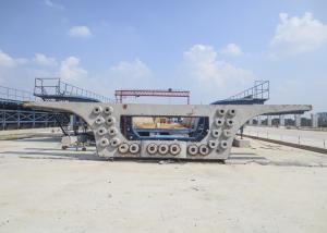 China Segment Box Girder Precast Concrete Formwork Good Precision High Performance on sale