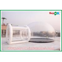 Camping Transparent Inflatable Bubble Tent With Led Lighting