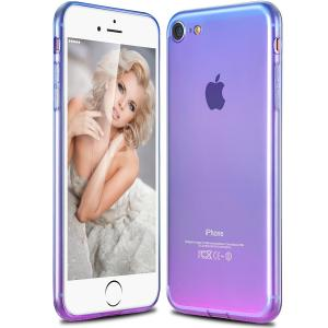 China Lightweight Crystal Clear Apple Cell Phone Cases Iphone Protective Cover on sale