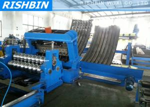 China Automatic Silo Forming Machine Silo Panel Roll Forming Machine For Grain Bin on sale
