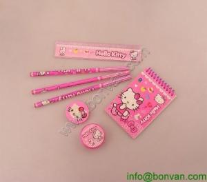 China Nice Design Stationery Set For Italian Market Promotion,Hello Kitty Stationery set on sale