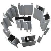 Chemical / Mechanical Polished T6 / T66 Aluminum 6000 Series Window Extrusion Profiles For Living Room